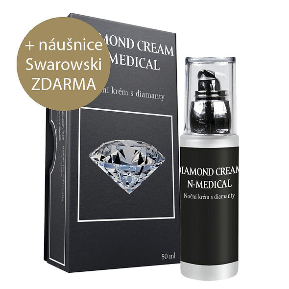 Noční krém Diamond Cream 50ml - AKCE 1+1 ZDARMA