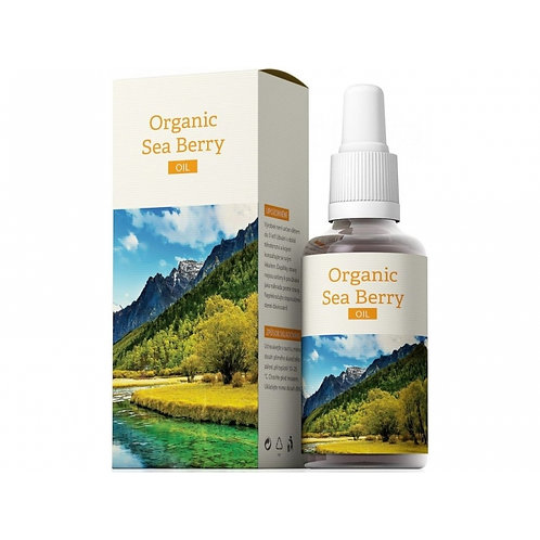Organic Sea Berry Oil 30ml - Energy