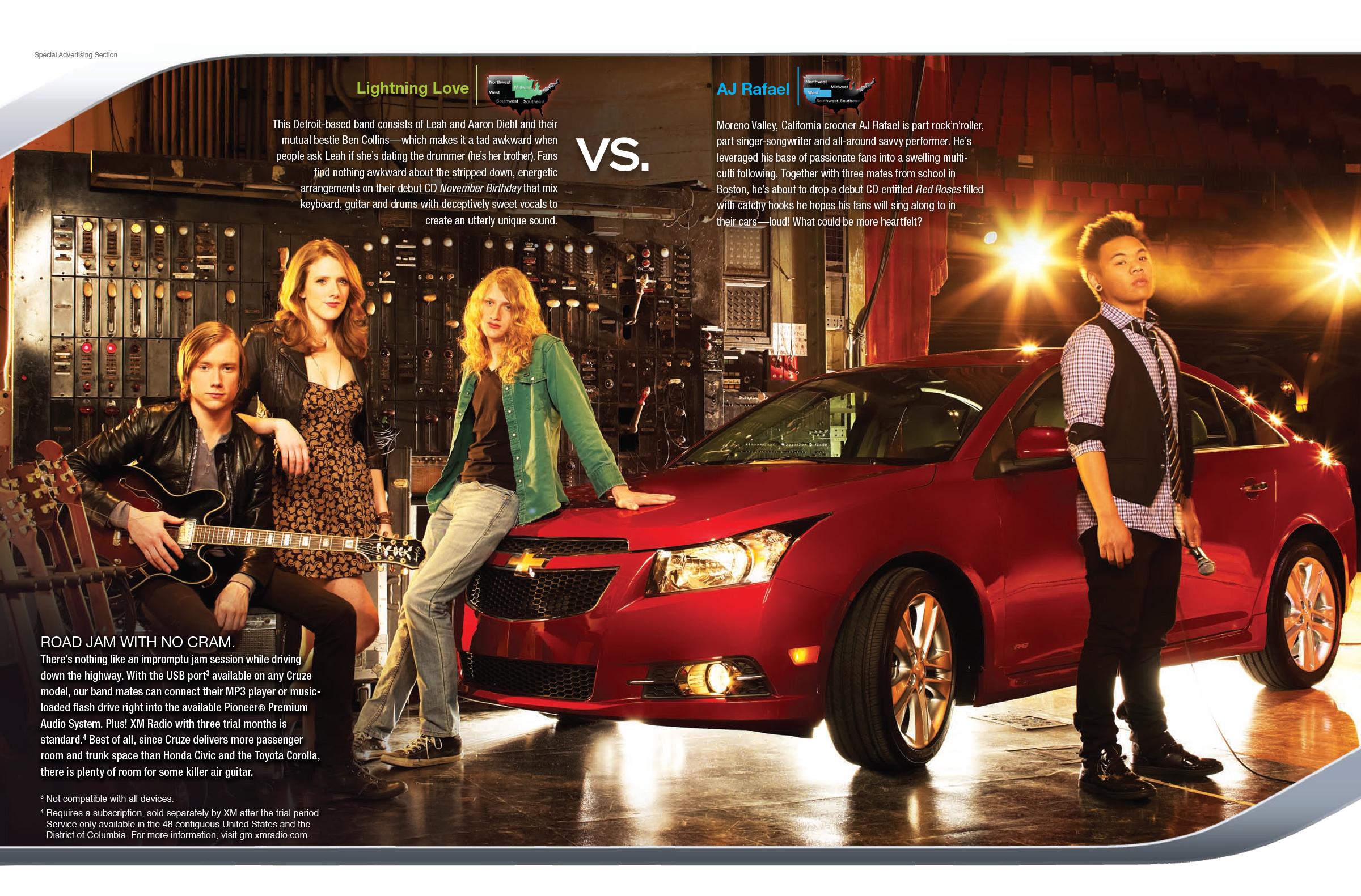 Billboard & Chevy creative solutions