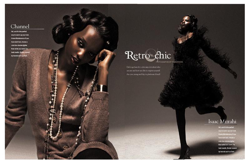 Essence magazine design
