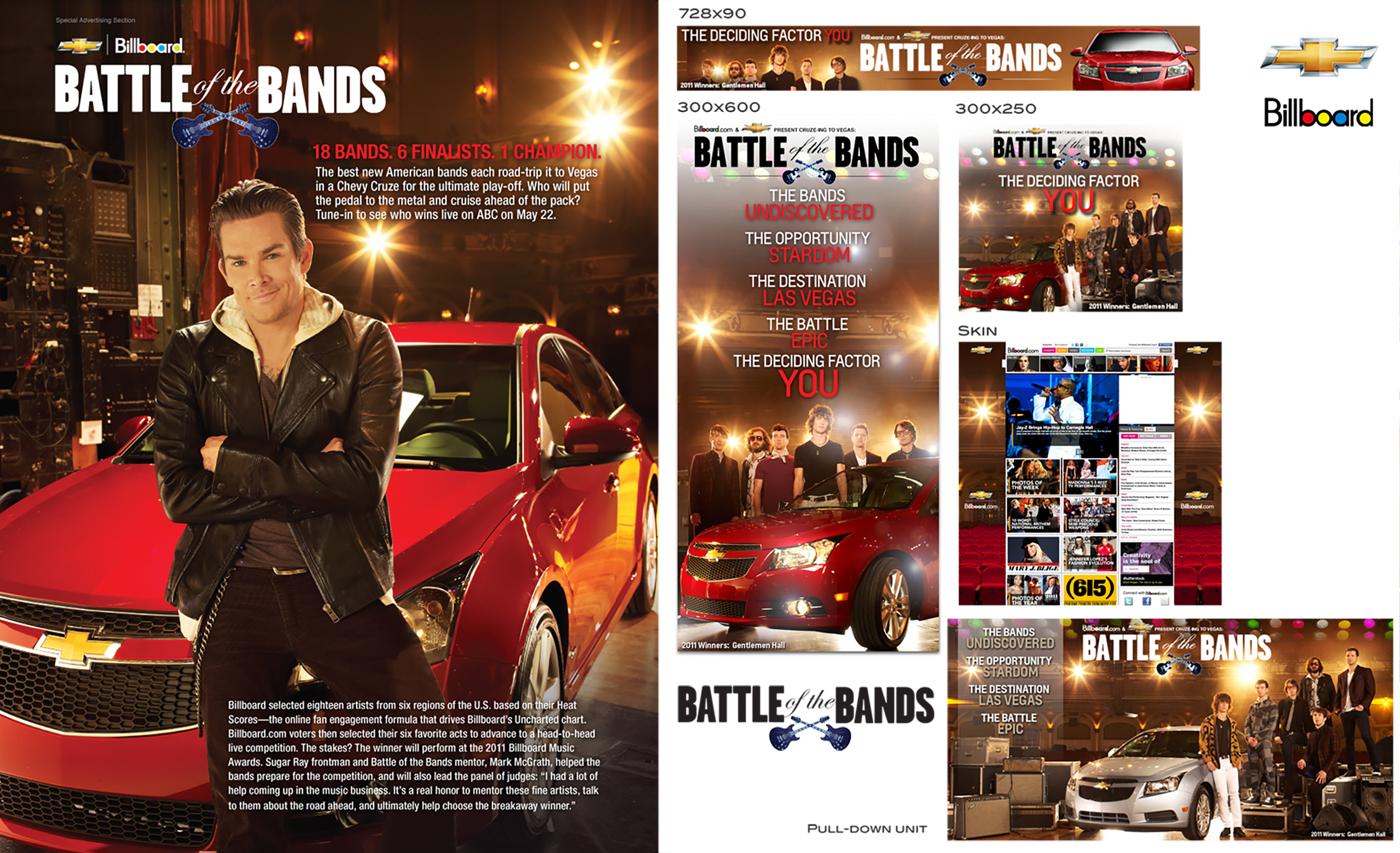 Billboard battle of bands campaign