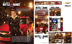 Billboard battle of bands campaign