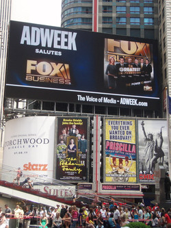 Adweek Times Square billboard ad