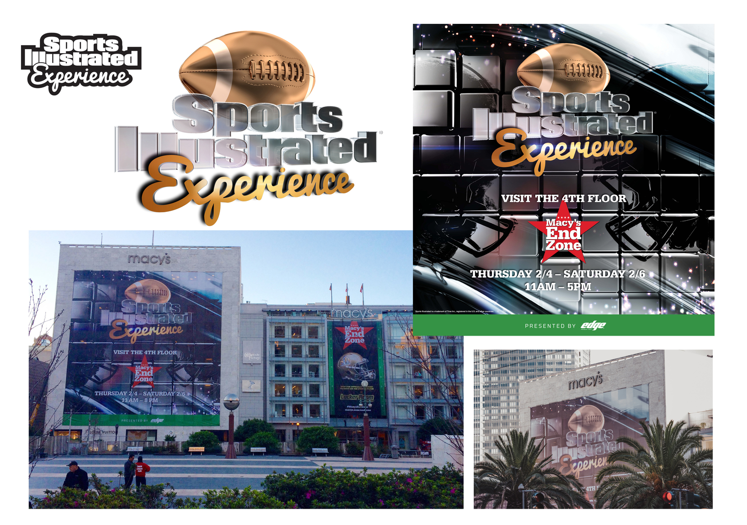 Macys store superbowl event design