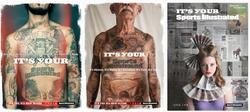 Sports Illustrated Rebranding Ads