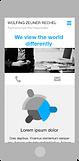 Responsive Website WZR | mobile
