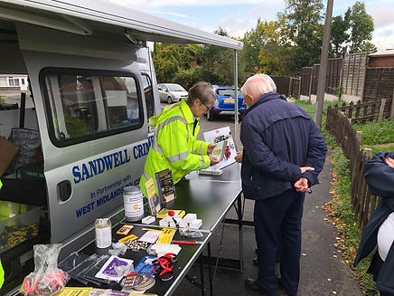 Sandwell crime prevention