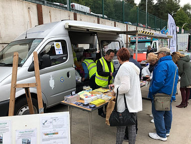 Sandwell Crime Prevention bus at Safer6 2019 launch