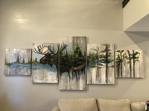 Multi Piece Moose