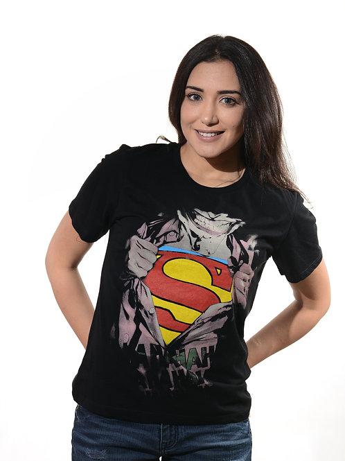 T-Shirt SUPERMAN  By BLACK HAZE