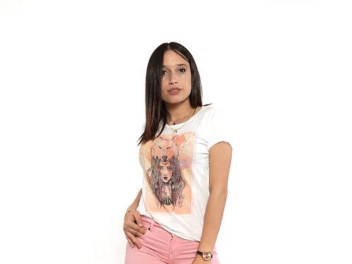 T-Shirt Aquarelle  By BLACK HAZE