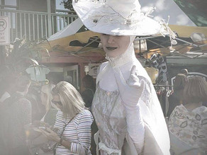 See our White Witch on 7/24/21 at the appropriately named White Witch Psychic Fair!