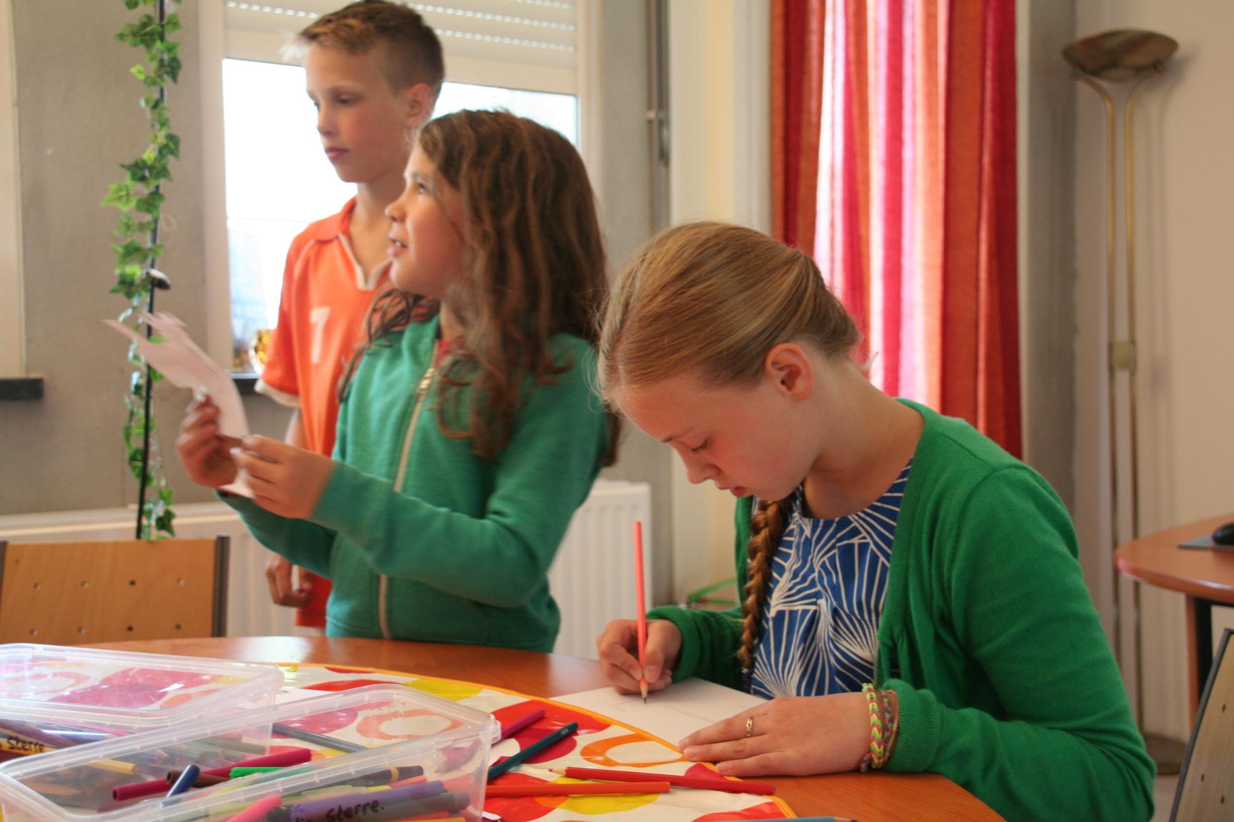Workshop in Cultuurpand Het Paleis.