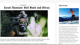 Lessons In Badassery - Sarah Thomson: Hell Week and Ultras