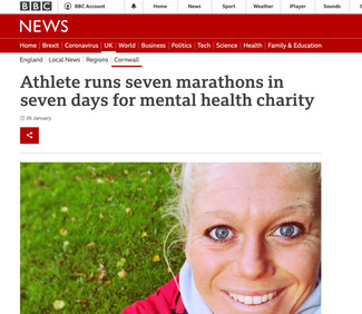 Marathons for MIND Charity - Seven Marathons in Seven Days