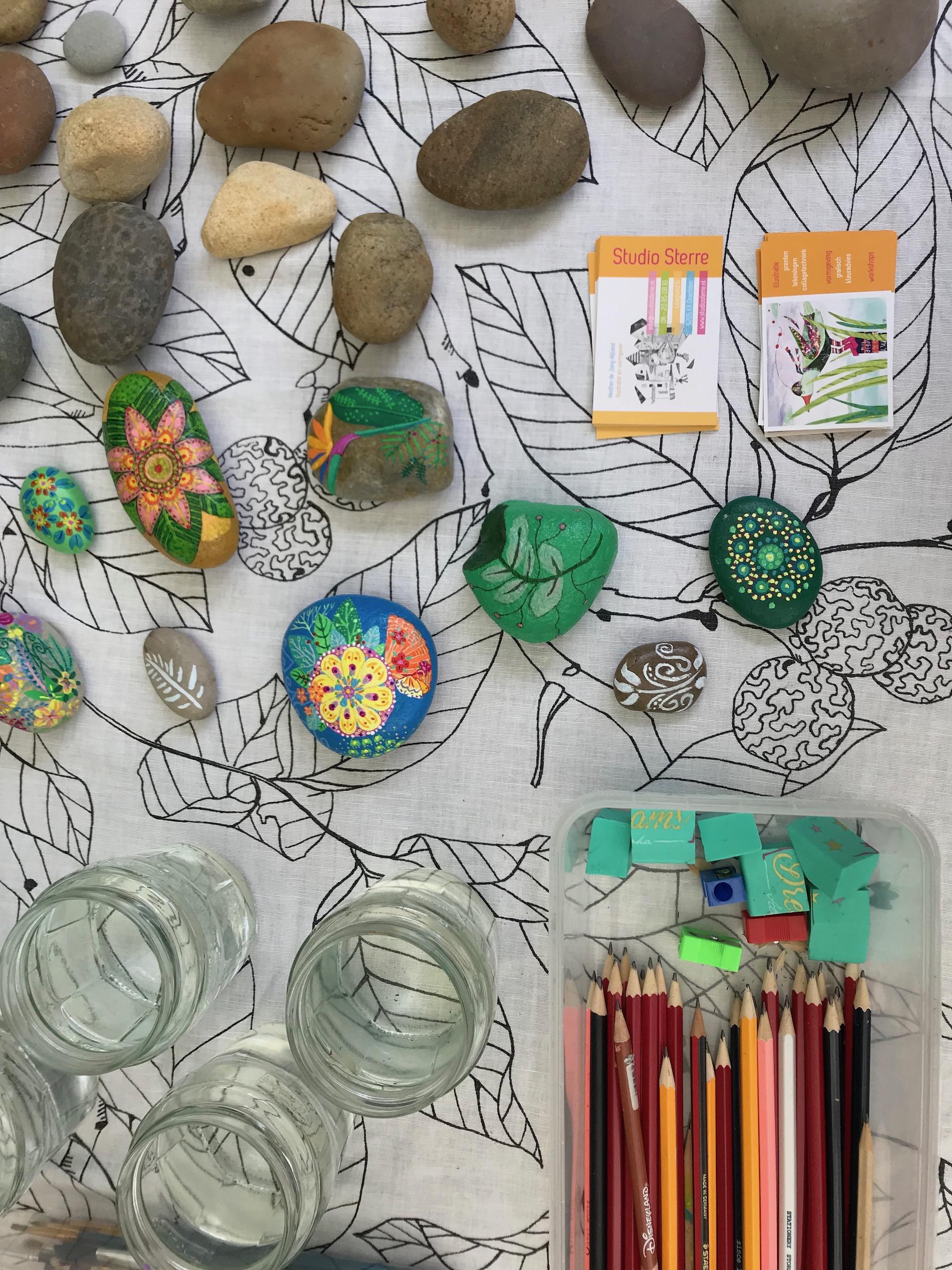 Workshop Tropisch Kleuren.