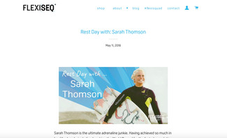 'REST DAY' With Sarah Thomson