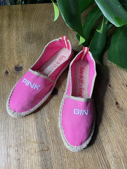 "Espandrilles ""Pink Gin"""