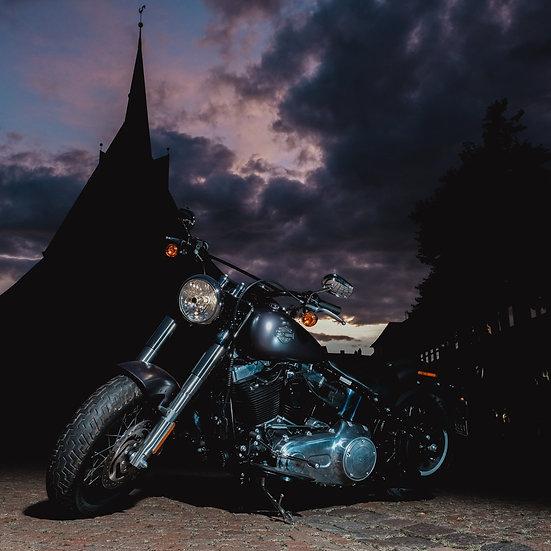 """""""Harley fahren & spenden"""""""
