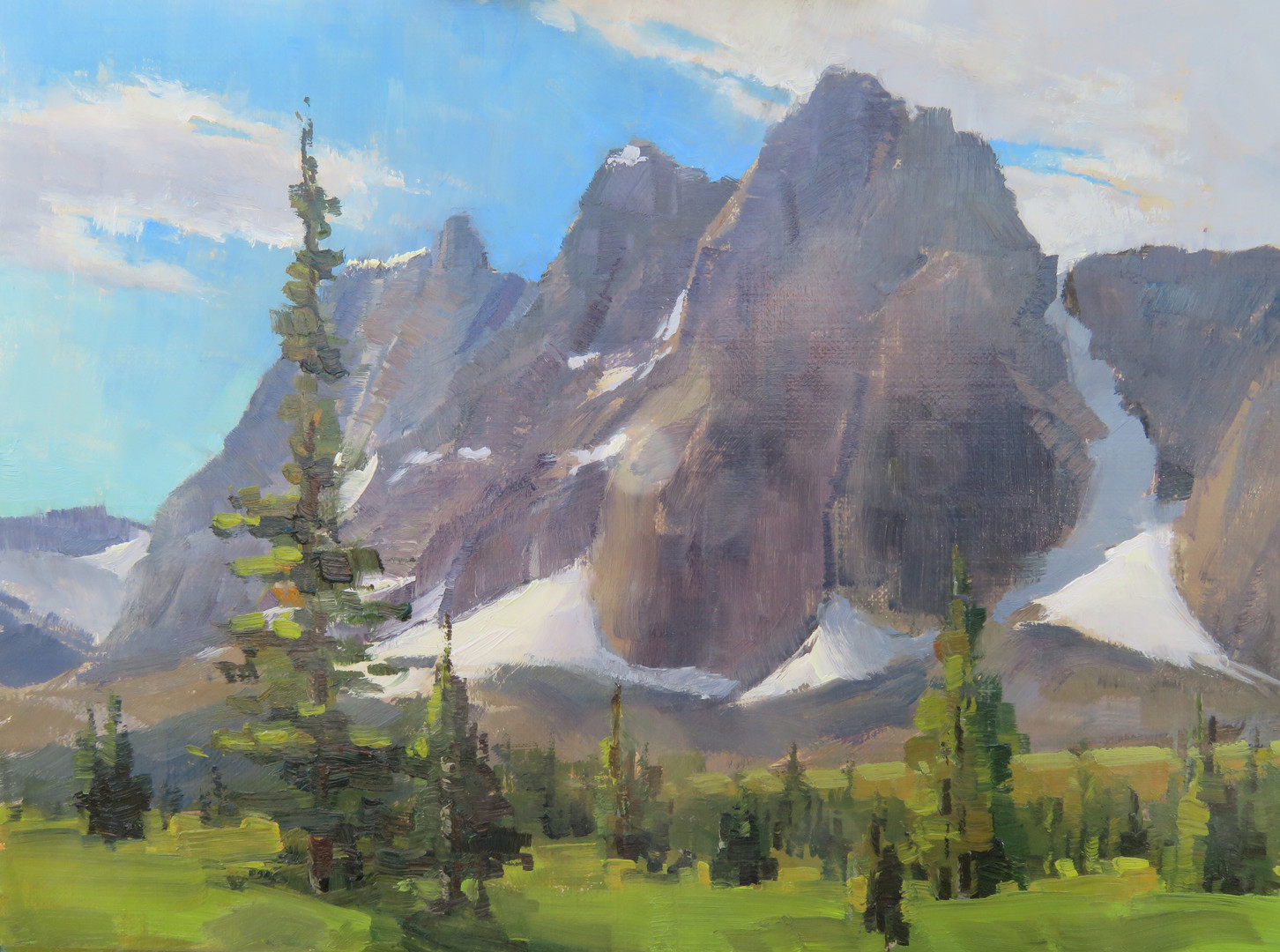 The Ramparts, Tonquin Valley