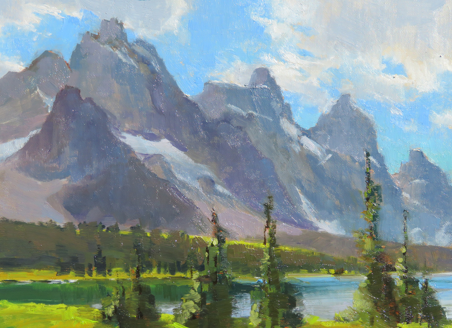Tonquin Valley from Moat Lake