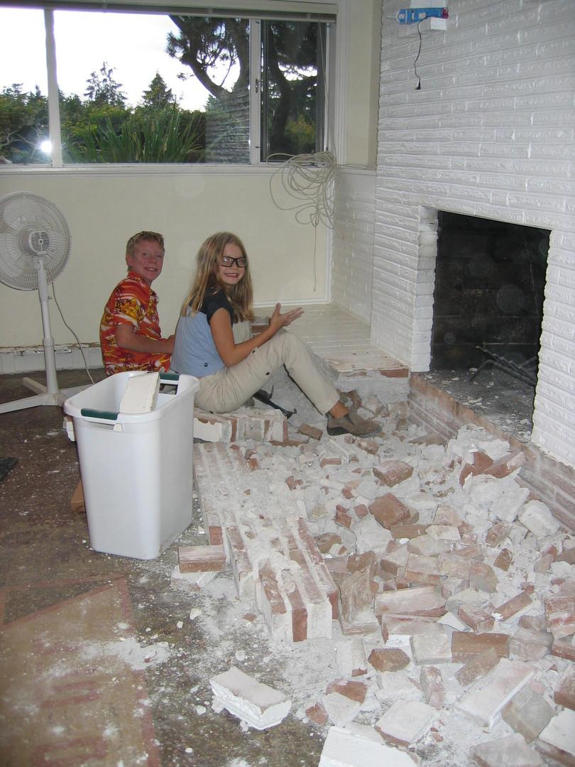 Demo Fireplace