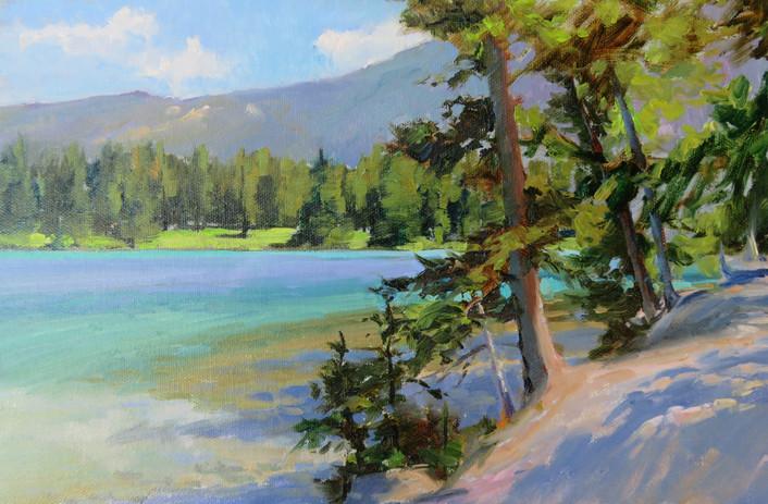 Lake Beauvert, Jasper Nat Park