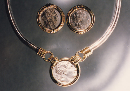 Ancient Roman Coin Jewelry