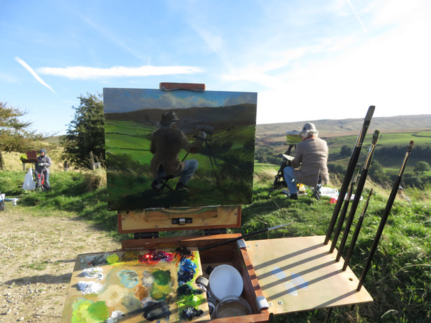 Jan Jewell Painting Earle Painting