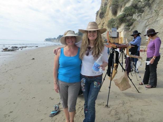 With Johanna Spinks