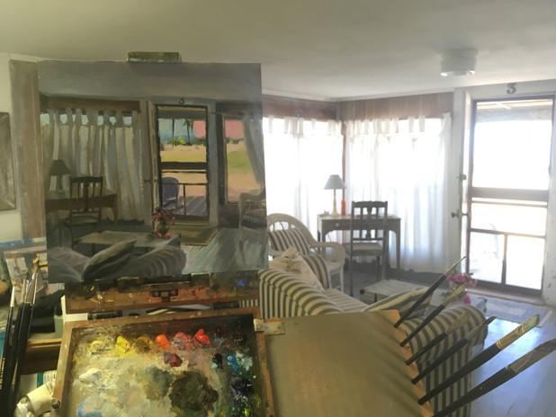 Painting Edie's Cottage