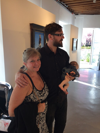 Visiting Jeremy Lipking's Exhibition at