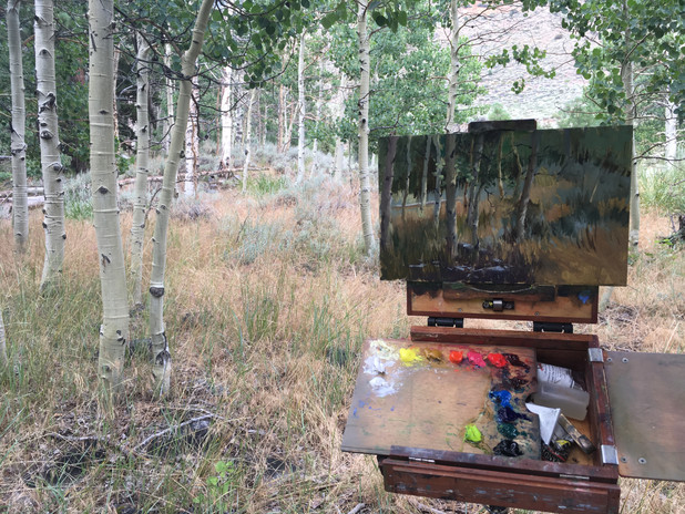 Painting the Aspens