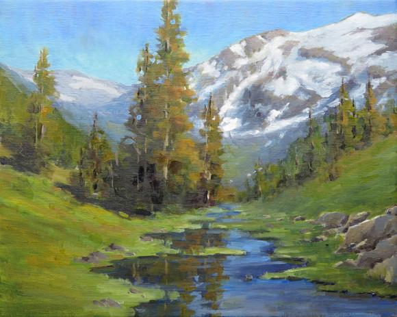 White Mountain Yosemite NP from Tioga Pa