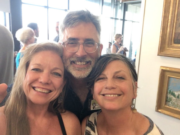 Jan Jewell with Thomas Kitts and Mary La