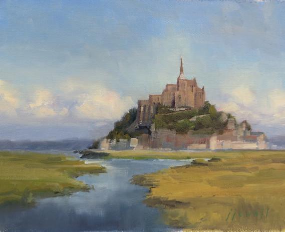 Jan Jewell, Mont St. Michele, France