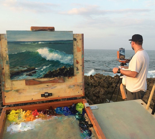 Painting with Jeremy Lipking