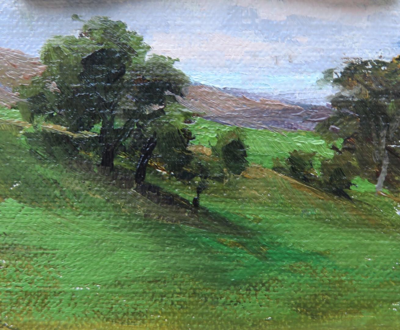 Mini Painting near Bolton Abby, Yorkshir