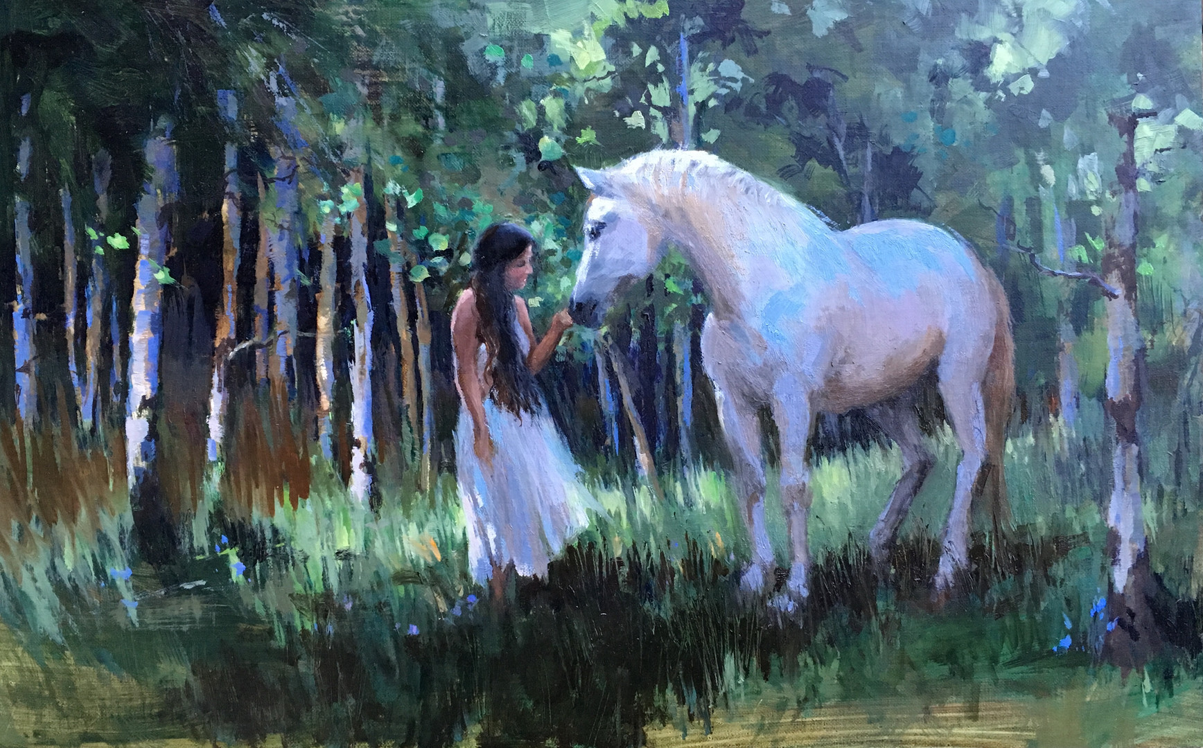 White Horse in Aspens