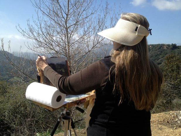 Painting Malibu Canyon