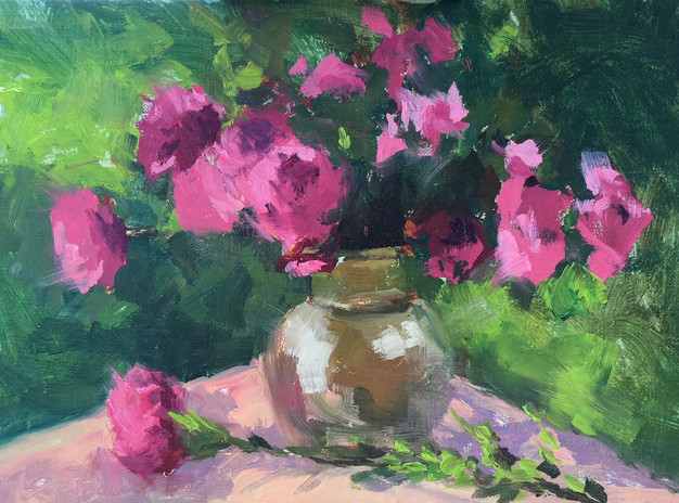 Still Life with Carnations