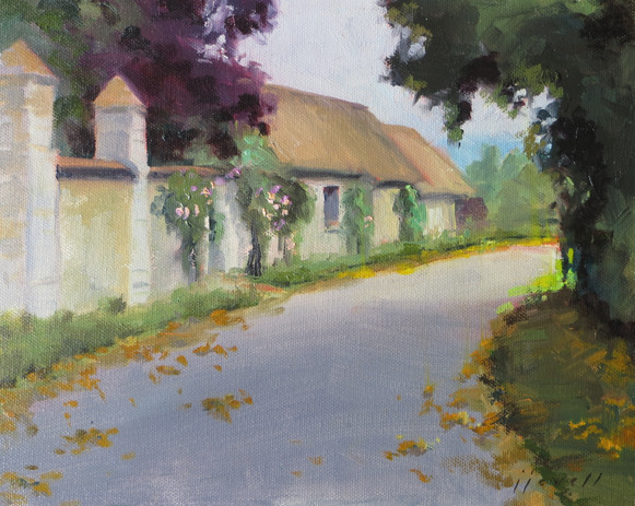 The Other Road in Giverney