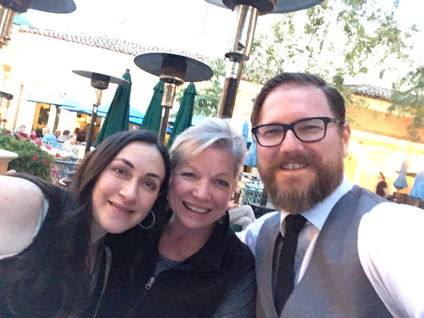 With Danielle and Jeremy Lipking