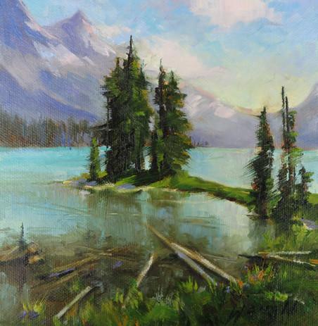 Maligne Lake, Jasper Nat Park