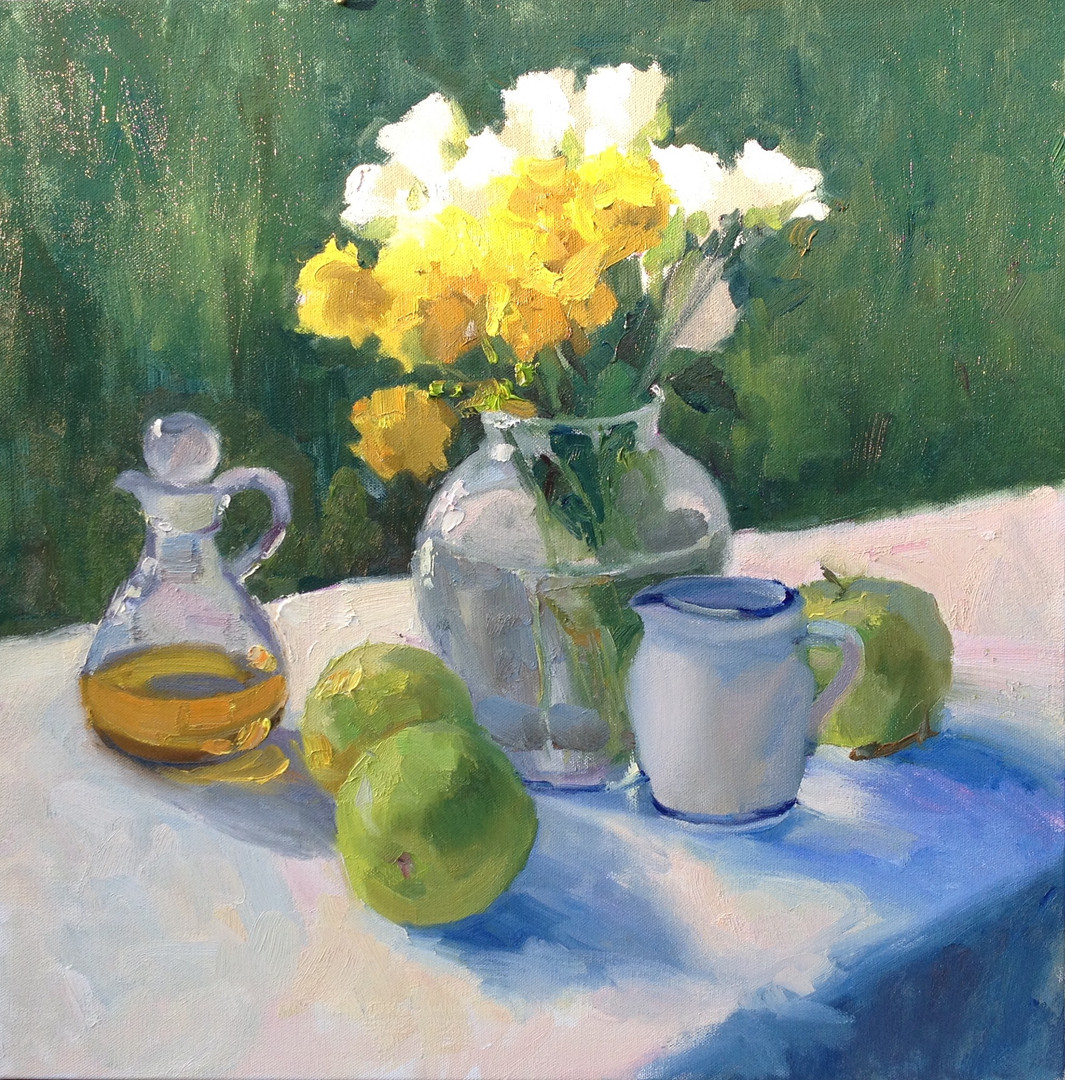 Olive Oil and Roses