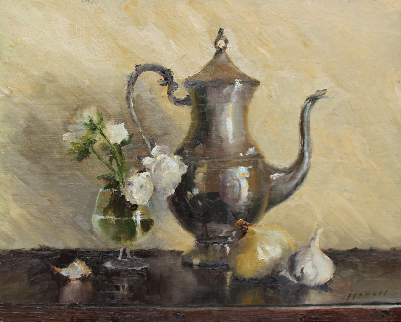 Still Life with Pewter Pot