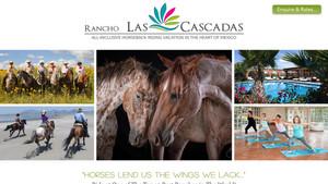 Rancho Las Cascadas New Website Launch