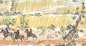 Ed's Sketchbook Rancho Las Cascadas
