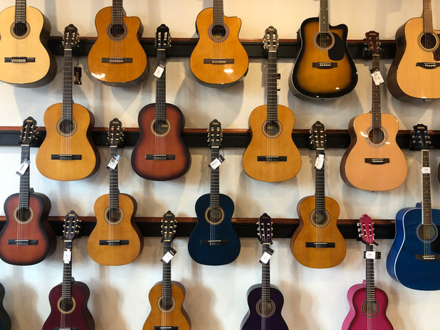 Guitar Wall Chasing Sound.