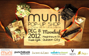 Muni Pop-Up Shop at Moonleaf Maginhawa by MUNI PH with co-presenters